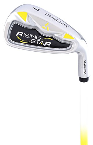 Paragon Rising Star Kids Junior #9 Iron Ages 5-7 Yellow / Right-Hand