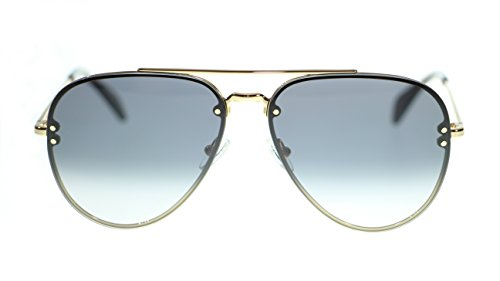 - Celine Unisex Sunglasses Cl41392 J5G/W2 Gold/Dark Grey Degrade Lens Aviator 58mm
