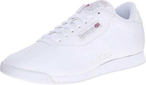 Reebok Women's Princess Aerobics Shoe,White, 9 M 1475
