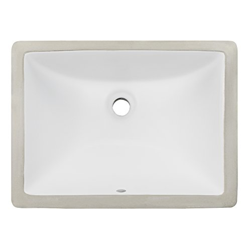 Undermount White Ceramic Sink - 4