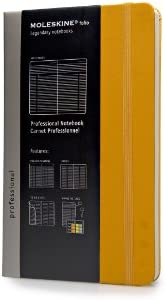 Moleskine Professional Notebook Orange Yellow