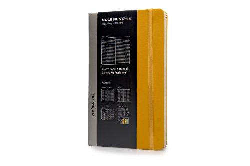 Moleskine Folio Professional Notebook, Large, Orange Yellow, Hard Cover (5 x 8.25) (Professional Folio Series)