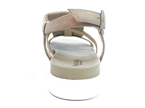 17740 CHAMPAGNE Scarpa donna sandalo Nero Giardini pelle made in italy