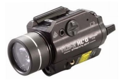 Streamlight 69265 TLR-2 800 High Lumens G Rail Mounted Flashlight with Green Laser, Black by Streamlight (Image #2)