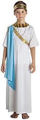 Car&Gus Disfraz de Noble Griego Blanco para niño: Amazon.es ...