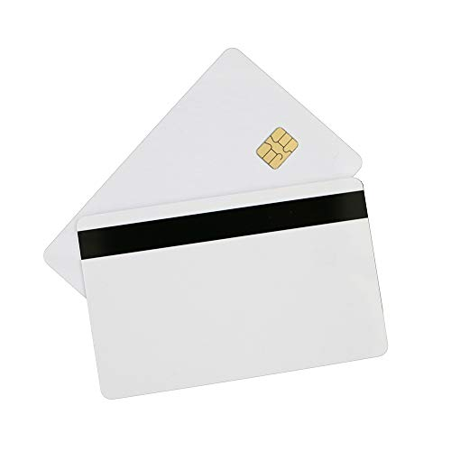 THONSEN SLE4442 Chip PVC Cards with Hico 2 Track Magnetic Stripe (Pack of 100) ()