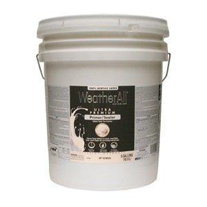 True Value Hp10 5gal Premium Weatherall Exterior 100 Percent Acrylic Latex Primer 5 Gallon