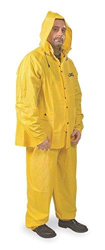 CONDOR 3AK84 Rainsuit, PVC, X Large