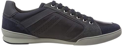 Navy A C4002 Sneaker Blau Kristof U Herren Geox 4wqSpt