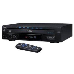 RCA RP8070D 5-Disc CD Changer Disc Direct Access Simultaneou