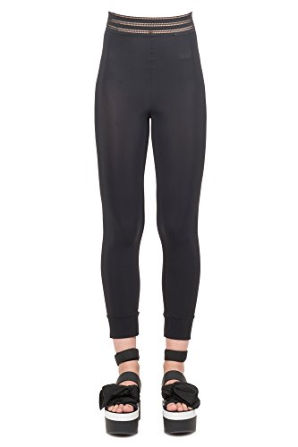 HIGH Women's S0506619242199 Black polyamide Leggings by HIGH