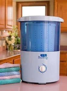The Laundry Alternative Mini Portable Countertop Spin Dryer