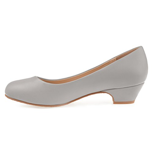 Journee Collection Womens Comfort-sole Classic Heels Grey KPkKZS