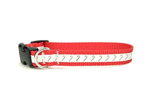 Christmas Dog Collar - Silky Candy Canes Collar!! - Winter Dog Collar - Little Dog Collar - Nutcracker Dog Collar - Candy Collar - Holiday - Nutcracker Dog