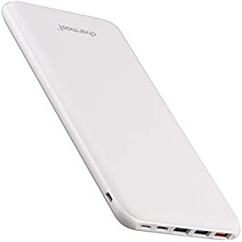 26800mAh QC 3.0 Power Bank Qualcomm Quick Charge Portable Charger USB Type C Battery Pack with 3 Input & 4 Output for MacBook Nintendo Switch Nexus iPhone Samsung Sony (White)