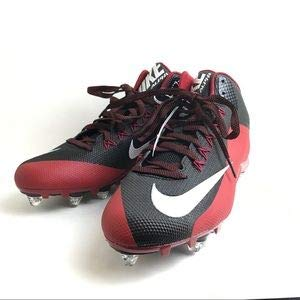 d7fbc15543f Nike Men s Alpha Pro 2 TD Football Lacrosse Cleats NFL Atlanta Falcons  Arizona Cardinals