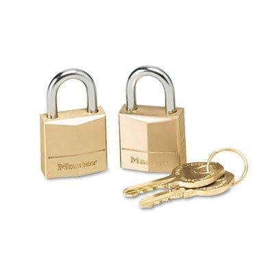 Three-Pin Brass Tumbler Locks, 3/4