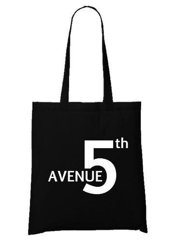 5° Avenue New York Glam Bolsa Negro