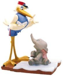 WDCC Disney ディズニー ダンボ コウノトリ フィギュア [並行輸入品] B01JZ3JBIY