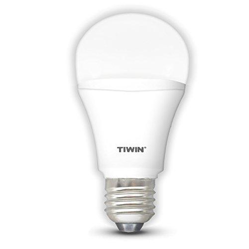 TIWIN LED Lampe E27 ersetzt 100W, Kaltweiss (5700 Kelvin), 1540 Lumen, 13W, 220 Grad Abstrahlwinkel, Standard A60, Superhelle LED Birnen, LED Strahler, LED Leuchtmittel