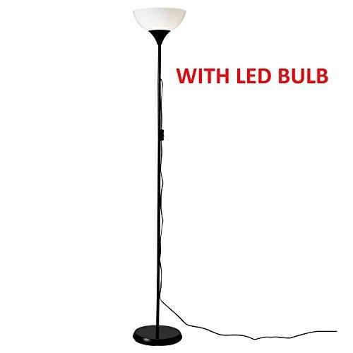 IKEA Floor Uplighter Light Lamp (Black&White) 101.398.79