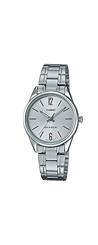 Casio #LTP-V005D-7B Women's Standard Stainless Steel Silver Dial 3-Hand Analog Watch