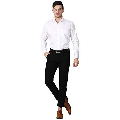 Karvy Men's Broken Twill Cotton Full Sleeves Shirts
