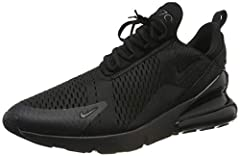 The Nike Air Max 270 Men's Shoe is inspired by two icons of big Air: the Air Max 180 and Air Max 93. It features Nike?s biggest heel Air unit yet for a super-soft ride that feels as impossible as it looks.