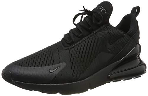 Nike Air Max 270 Mens Running Trainers Ah8050 Sneakers Shoes (11, Black/Black/Black)