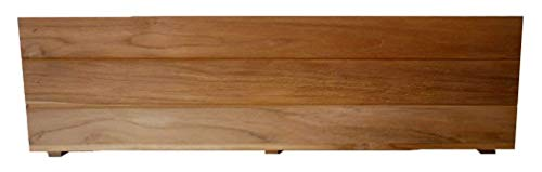 Teak Box Flower - Teak Wood Flower Planter Window Box garden 48 inch x 8