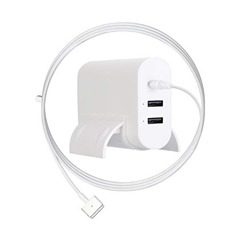 Ponkor MacBook Pro Charger, 85W T-tip Magsafe 2 Power Adaptor Charger with 2-Port USB for Apple Mac Book Pro 15 inch and 17 inch