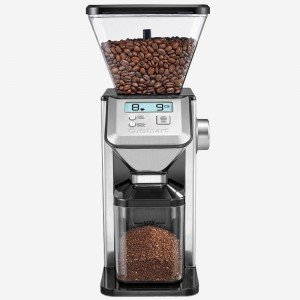 CUISINART CBM-20C Deluxe Conical Burr Mill Grinder, Silver