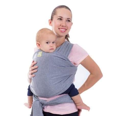 Baby Wrap Carrier by KeaBabies - All-in-1 Stretchy Baby Wraps - Baby Sling - Infant Carrier - Babys Wrap - Hands Free Babies Carrier Wraps | Great Baby Shower Gift