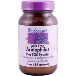 Milk-Free Acidophilus Plus FOS - 3 oz - Powder