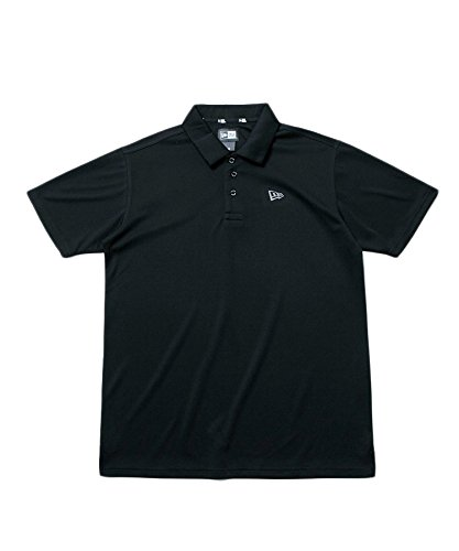 ニューエラ ポロシャツ ◆ NEW ERA 【ゴルフ】 ポロシャツ テックポロ ブラック 11474170 メンズ アパレル トップス 半袖 シンプル スポーツ 抗菌 M ブラック