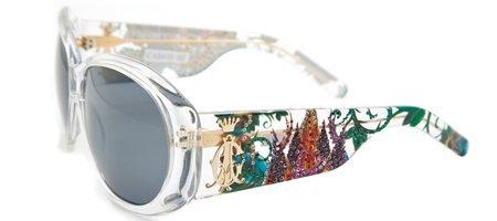 Christian Audigier CAS 410 Broken Heart Sunglasses - Whit...