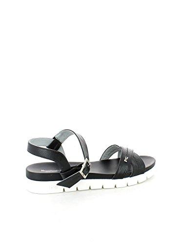 Sandalo basso Leon Nero incrociato N. 36