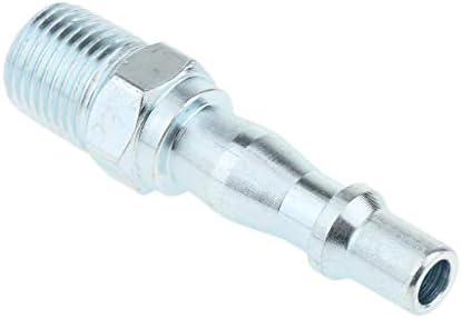 D DOLITY エアホースアダプター 1/4インチ ツール オスプラグ 耐久性 高品質 150MPa ホース継手