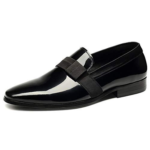 Lavoro Formale Ufficio Sposa Scarpe Abbigliamento Partito Serata Casual Uomo Da Nero Black Abito Uomo Scarpe Da Da Mocassini vO7rOxt