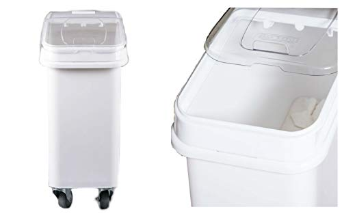 - Dry Ingredient Bin Storage with Lid 21 Gallons