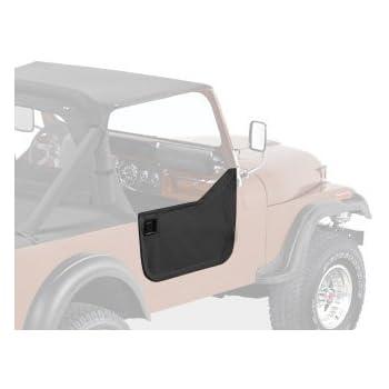 Bestop Set of 2 Half Doors Front New for Jeep CJ7 CJ5 1976-1983 Pair 53027-01