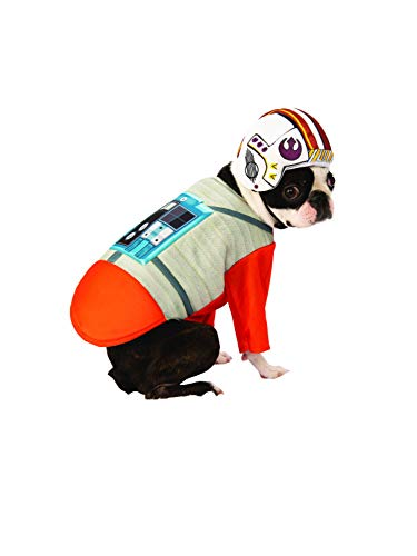 Rubie's Star Wars X-Wing Pilot Pet Costume, Large ()