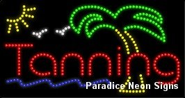 (Tanning LED Sign 17 x 32)