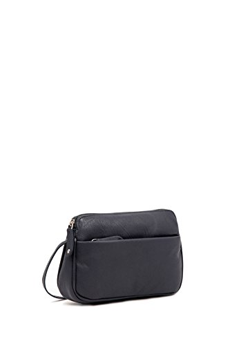 Women's Bag Rubi Curved Body Soft Cross Leather Small Navy II CqfwP7
