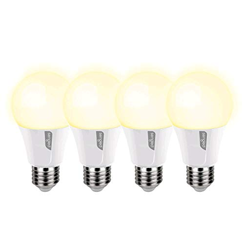 Sengled TLA19ND827-P4 Twilight 15-Second Gradual LED Light Bulb, Daylight (5000K) Dims to Soft White (2700K), A19, 4 Pack