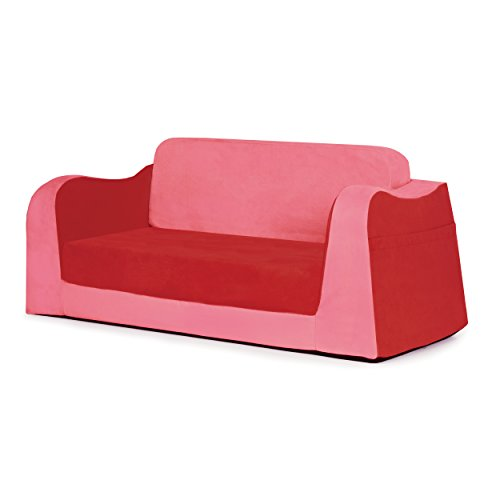 - P'kolino Little Reader Sofa, Red