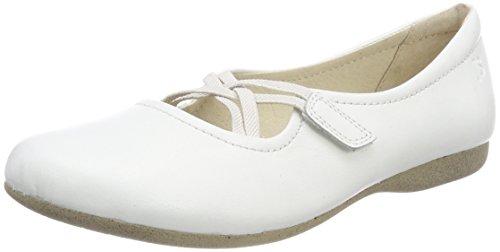 Josef Seibel Fiona 39, Bailarinas con Punta Cerrada Para Mujer blanco (blanco)