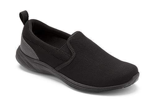 Vionic Women's Agile Kea Slip-on Black Black 7.5M US