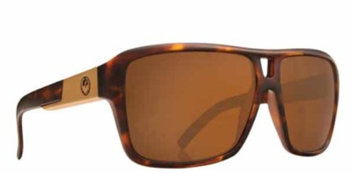 Dragon The Jam Sunglasses Matte Tortoise Frame w/ Bronze - Jam Dragon The Sunglasses
