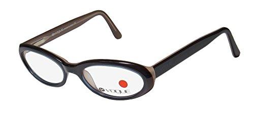 Vogue 2234 Womens/Ladies Designer Full-rim Flexible Hinges Eyeglasses/Spectacles (49-17-135, Blue / - Vogue Spectacles
